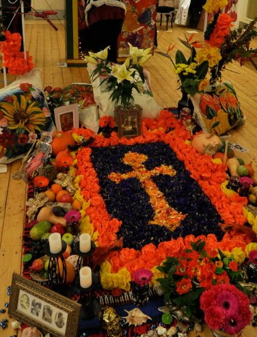 The Day of the Dead Shrine at 2011 Exhibition